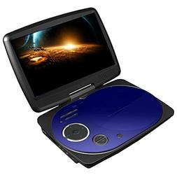 Impecca DVD Video Player- Portable DVD Player with 9 Inch Sw