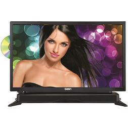 """Naxa 24"""" HD LED TV with DVD Player and Built-in Soundbar in"""