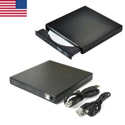 Optical Drive Writer Burner External USB2.0 DVD CD-RW DVD Pl