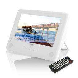 Pyle Waterproof 10'' Portable DVD Player, Built-in Recha