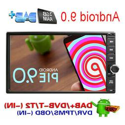 """Quad Core Android 7.1 4G WIFI 7""""Double 2DIN Car Radio Stereo"""