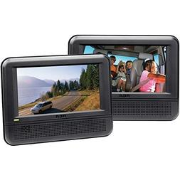 RCA DRC6272E22 Twin Mobile DVD System with 7-Inch Screens