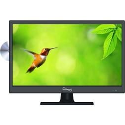 """SuperSonic 15.6"""" LED 1080p HDTV w/HDMI, Built-in DVD Player,"""
