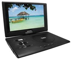 Sylvania 13.3-Inch Swivel Screen Portable DVD Player  with U