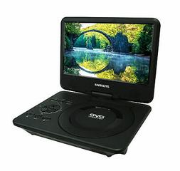 "Sylvania Portable DVD Player With 9"" LCD 360° Swivel-Screen"