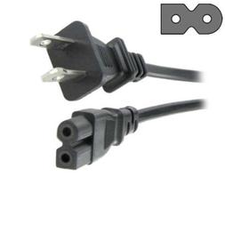 HQRP AC Power Cord for Sony BDP-S301, BDP-S350, BDP-S360, BD