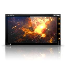 """Android 7 Car Stereo CD DVD Player - Corehan 6.95"""" inch Doub"""