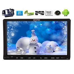 EinCar Android 5.1 Double Din Car Stereo Radio In Dash Navig