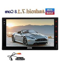 Sale!!! 7 inch Android 7.1 Car Radio Stereo Octa Core Double