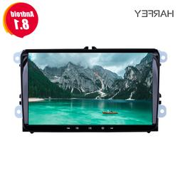 Harfey Android 8.1 2Din For VW/Volkswagen/Golf/Polo/Tiguan/P