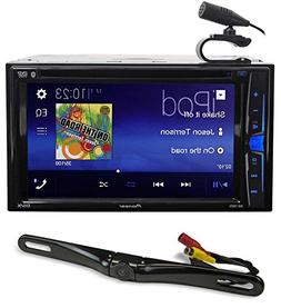 "Pioneer AVH-200EX 6.2"" In-Dash DVD Bluetooth Receiver iPhone"