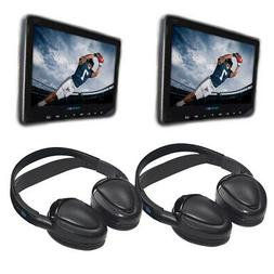 Audiovox AVX10USB Universal Seat-back DVD Video bundle with