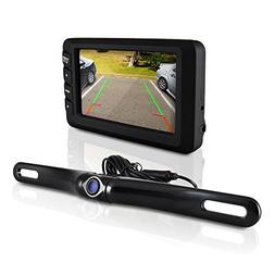 Pyle Backup Camera and Monitor Kit for Car | Universal Water
