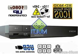SONY BDP S1700 High Res Audio Multi System All Region Free B