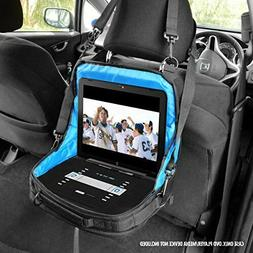 """Black 9.5"""" Portable DVD Player Case Carry Bag with Strap for"""