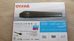 Sanyo Blu-Ray /DVD Player Model FWBP505F Brand New