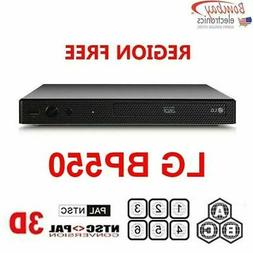 LG BP550 Multi Region Free DVD 3D Blu-ray disc Player with W