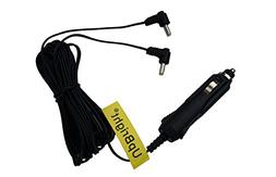 UpBright New Car 2 Tips Output DC Adapter For Philips Dual S