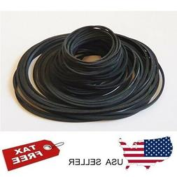 Cassette Tape CD Player Square Rubber Belts Replacement DVD