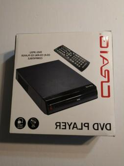 Craig Compact DVD/JPEG/CD-R/CD-RW/CD Player with Remote  NEW