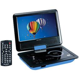 "Craig CTFT713 180° Swivel Screen 9"" Portable DVD Player w/"