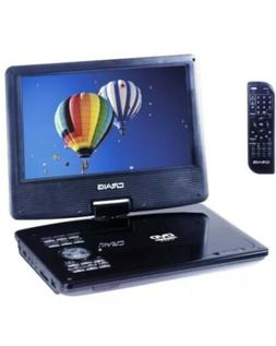 Craig Electronics CTFT713 9in TFT Swivel Screen Portable DVD