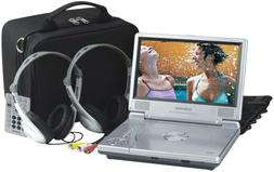 Audiovox D1812PK 8-Inch Portable LCD DVD Player with Car Kit