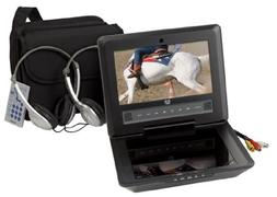 Audiovox D9104PK 9-Inch LCD Portable DVD Player with Four Ho