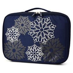 Dark Blue Fireworks Universal Slip Case with Handle for Sony