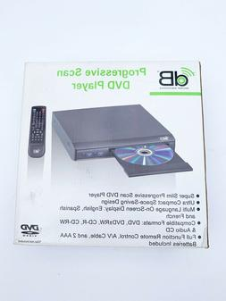 db super slim ultra compact prgressive scan dvd player