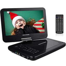 "DBPOWER 12"" Portable DVD Player with 5-Hour Rechargeable Bat"