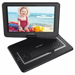 "DBPOWER 14"" Portable DVD Player with Rechargeable Battery Sw"