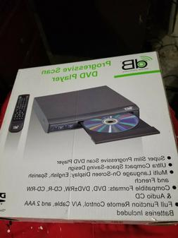 DECIBEL ELECTRONICS : PROGRESSIVE SCAN DVD PLAYER WITH REMOT