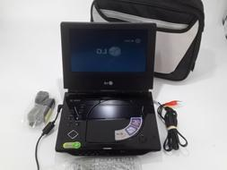 LG DP781 PORTABLE DVD PLAYER WITH BATTERY AND POWER CORD REM