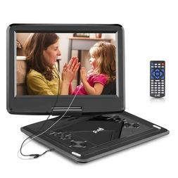 DR.Q 12.1 Inch Portable DVD Player with 6000mAh Rechargeable