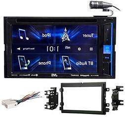 JVC DVD/CD Player Monitor w/Bluetooth/USB/iPhone/Android For