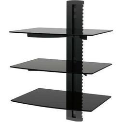 Ematic 3 Shelf DVD Player Wall Mount