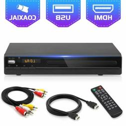 DVD Player for TV,All Region Free DVD CD Disc Player with HD