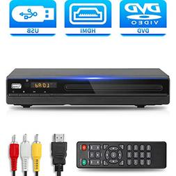 DVD Player with HDMI AV Output, DVD Player for TV, Contain H