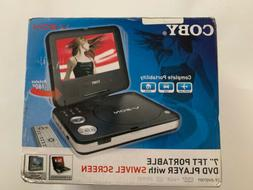 DVD PORTABLE PLAYER 7 IN SCREEN WITH SWIVEL SCREEN 180 DEGRE