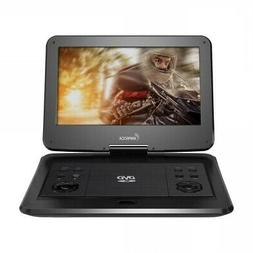 Impecca DVP-1330K 13in Portable Dvd Player, Black