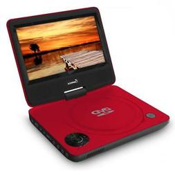 IMPECCA DVP-772 7in 270° Swivel Screen Portable DVD Player,