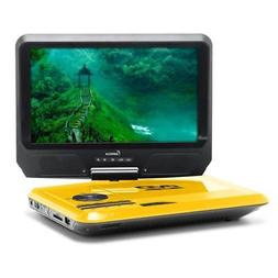 IMPECCA DVP-917 9in 270° Swivel Screen Portable DVD Player,