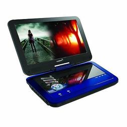 Impecca DVP1016 10.1 Inch Portable DVD Player, 6 Hour Rechar