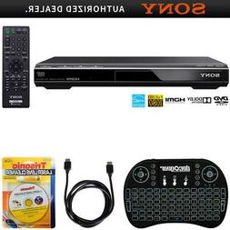 Sony DVPSR510H - DVD Player + Backlit Keyboard + HDMI Cable