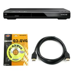 Sony DVPSR510H DVD Player with 6ft High Speed HDMI Cable and