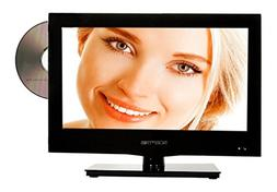 """SCEPTRE E165BD-S 16"""" Class HD 720P LED TV with Built-in DVD"""