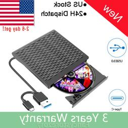 External DVD Drive USB 3.0 CD/DVD+/-RW Drive/DVD Player for