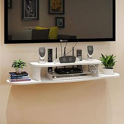 floating white wall mount