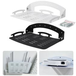 Foldable Wall Mount Bracket Storage Shelf Holder for Router